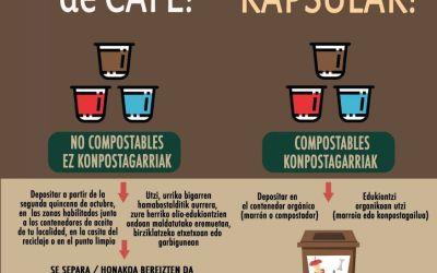 Las cápsulas de café también se reciclan en Valdizarbe