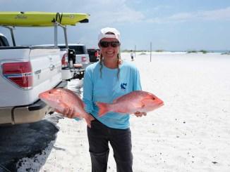 Kayak Fishing for Red Snapper Kayak Fishing Charters