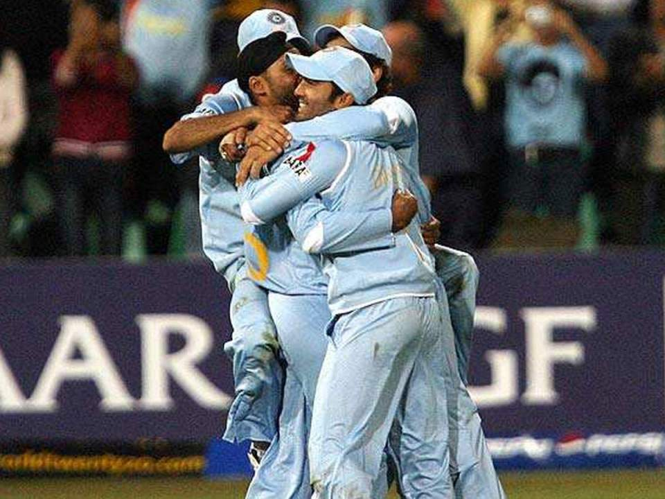 Today in 2007, India beat Pakistan in a ball out in T20 World Cup