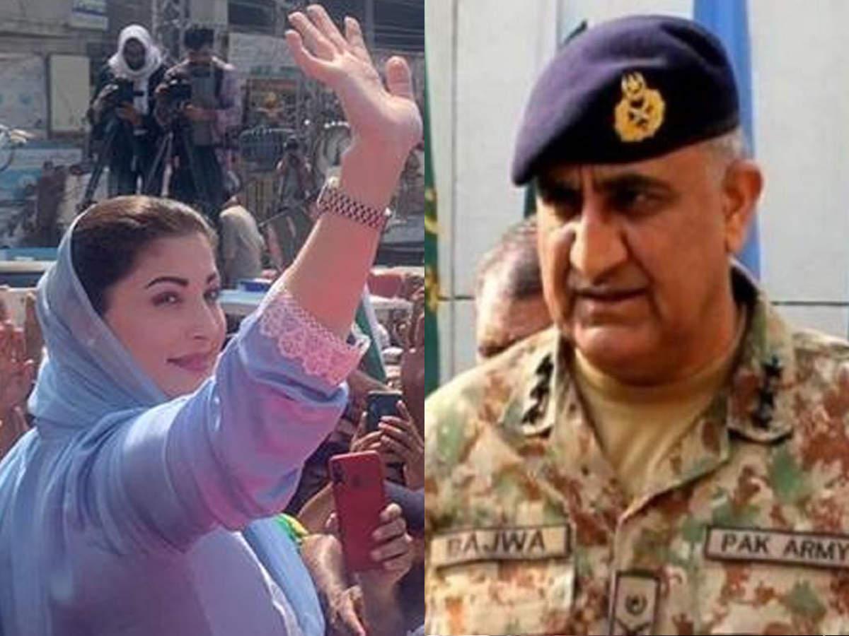 गिलगित-बाल्टिस्तान पर जनरल बाजवा को मरयम नवाज की खरी-खरी, 'सेना मुख्यालय नहीं, संसद में होगा फैसला'