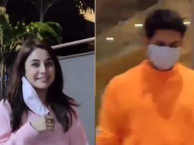 VIDEO: Shahnaz returned from Goa with Siddharth Shukla, said to see the camera – go to sleep