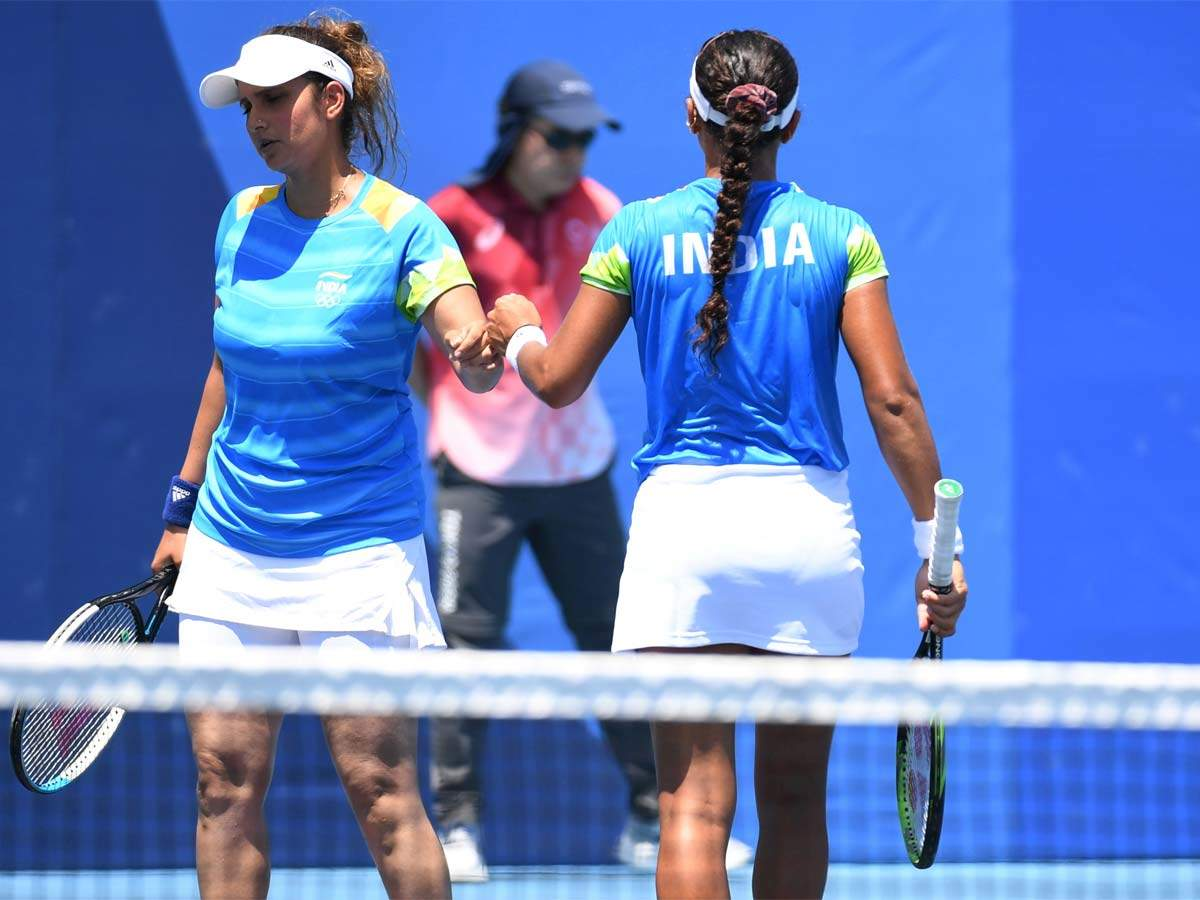 Sania Mirza at the Olympics: Sania Mirza and Ankita lost in the first round of the women's doubles at the Tokyo Olympics