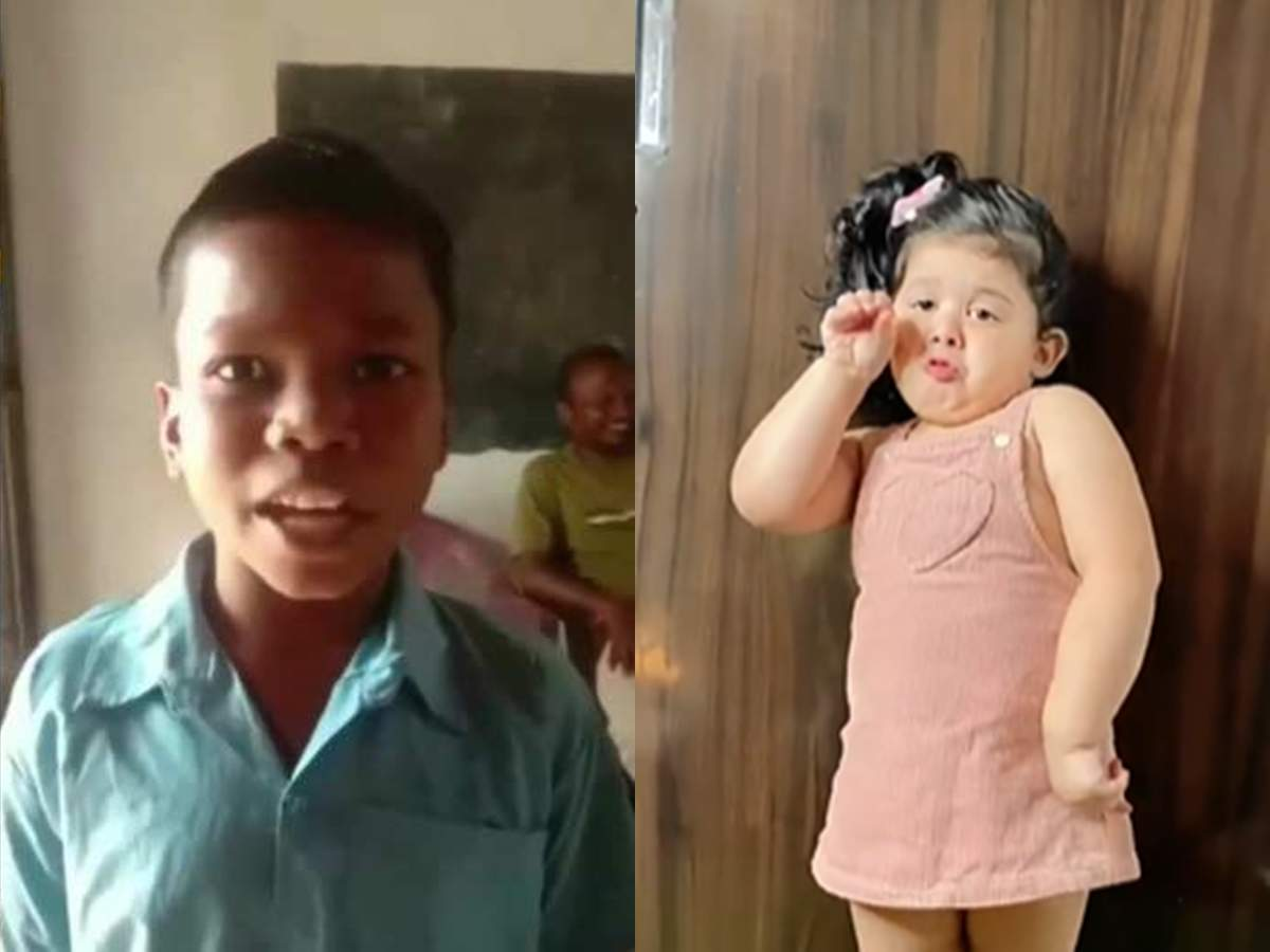 The little girl danced to the song 'Bachpan Ka Pyaar', you will be shocked to see the expressions!  – Little girl's Sahadeva Dirdo song on childhood why love cute dance went viral on social media