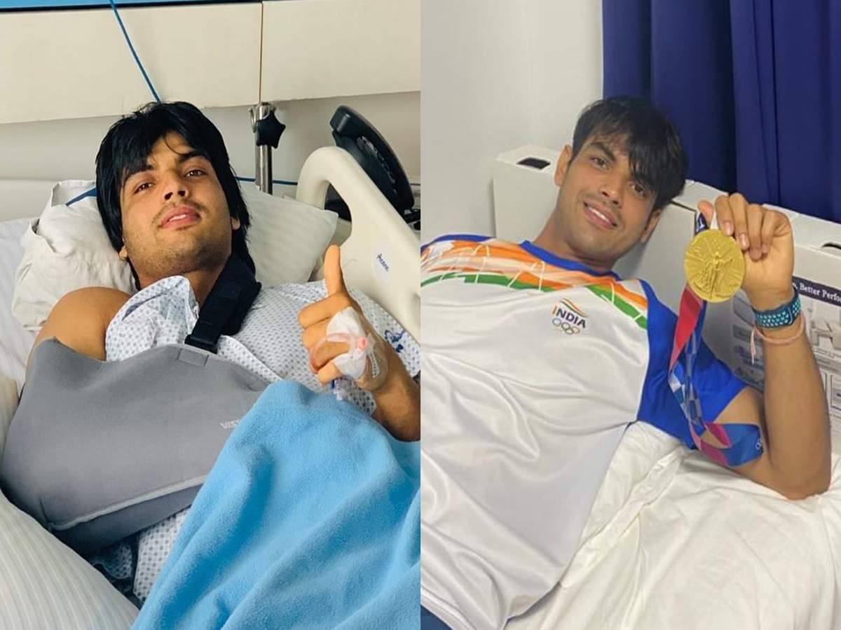 Neeraj Chopra Olympic Gold Medal: Neeraj Chopra shared the message of his epic journey from the hospital: From the injured corner to the gold medal in hand …