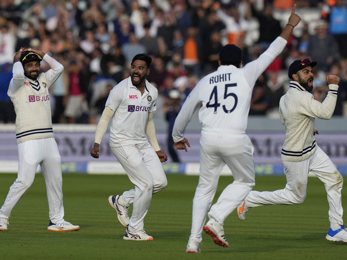 India beat England in Lord's Test: India draw England v Lord's Test;  India vs England Lord's Test match report and highlights;  India vs ENG 2021 Lord's Test Highlights