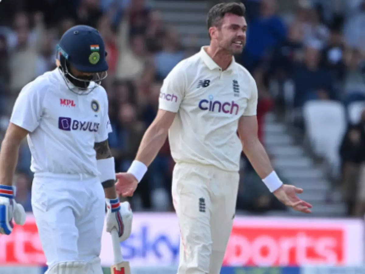 Anderson-Kohli battle: I think Virat Kohli's wicket was extra special, we've had some great fights over the years;  James Anderson says: Anderson told Kohli that destructive batsman, if he gets in the rhythm, he will create problems for us