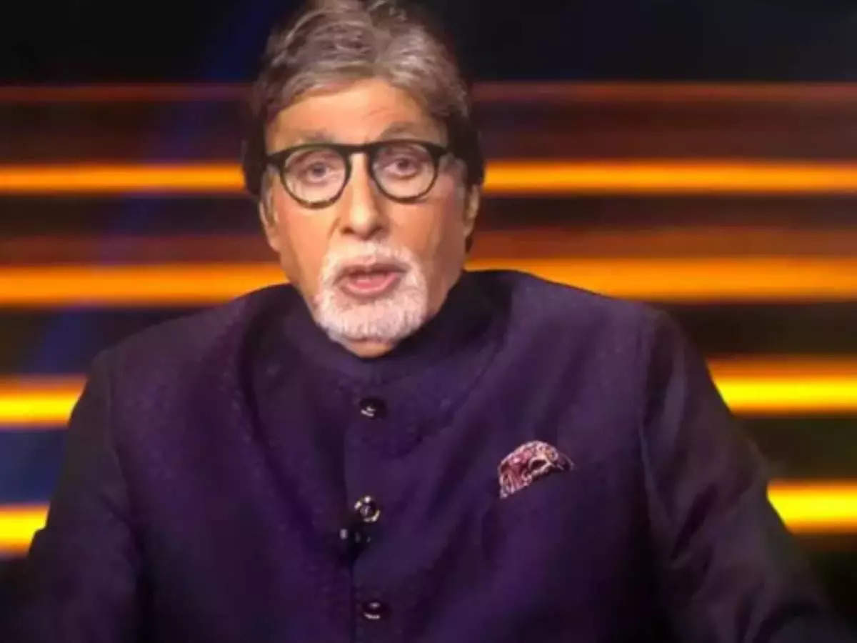 kbc 13 amitabh bachchan: kbc 13: Amitabh Bachchan remembers veteran actor Dilip Kumar and says who drinks to endure fucking