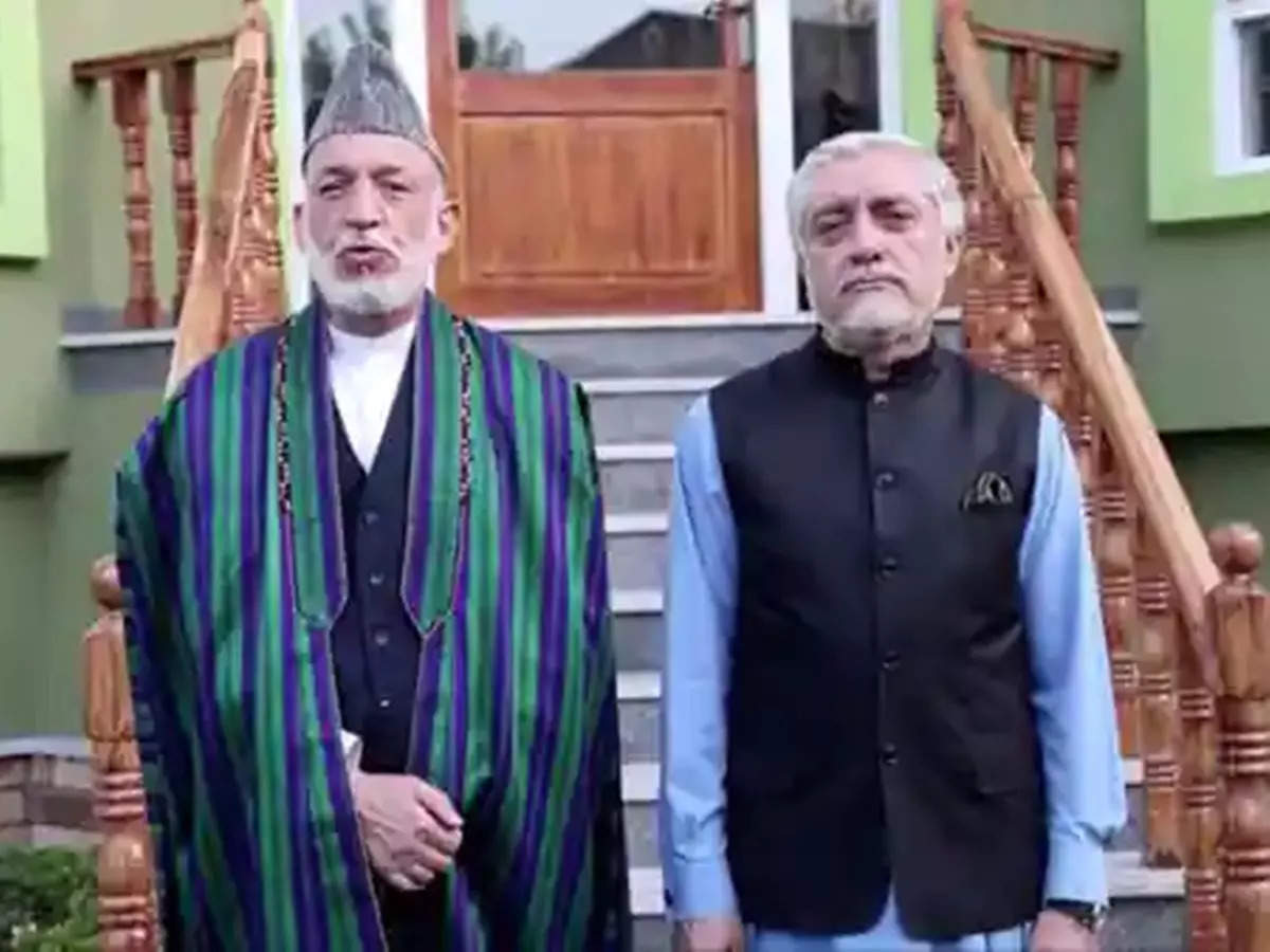 Hamid Karzai: Hamid Karzai, Abdullah Abdullah detained by Taliban in Kabul