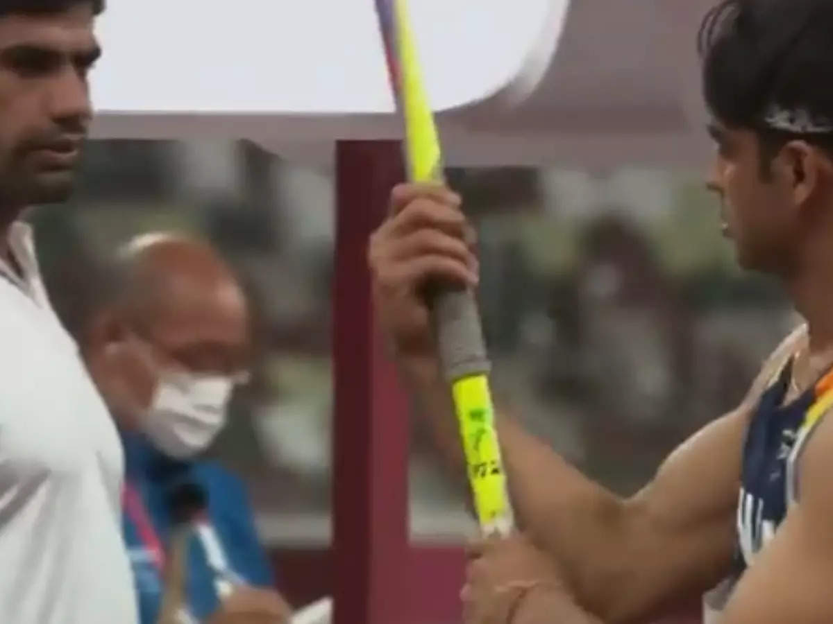 Arshad Nadeem Spear Dispute: Pakistani sprinter Arshad Nadeem broke his silence on the confusion over the spear, saying – people are unnecessarily exaggerating the matter – maybe it was his favorite and he wanted to throw it away;  Neeraj Chopra says Arshad Nadeem on the spear