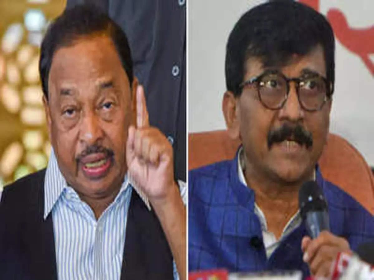 Shiv Sena leader Sanjay Raut said that Narayan Rane is like an illegal Bangladeshi national in the BJP.