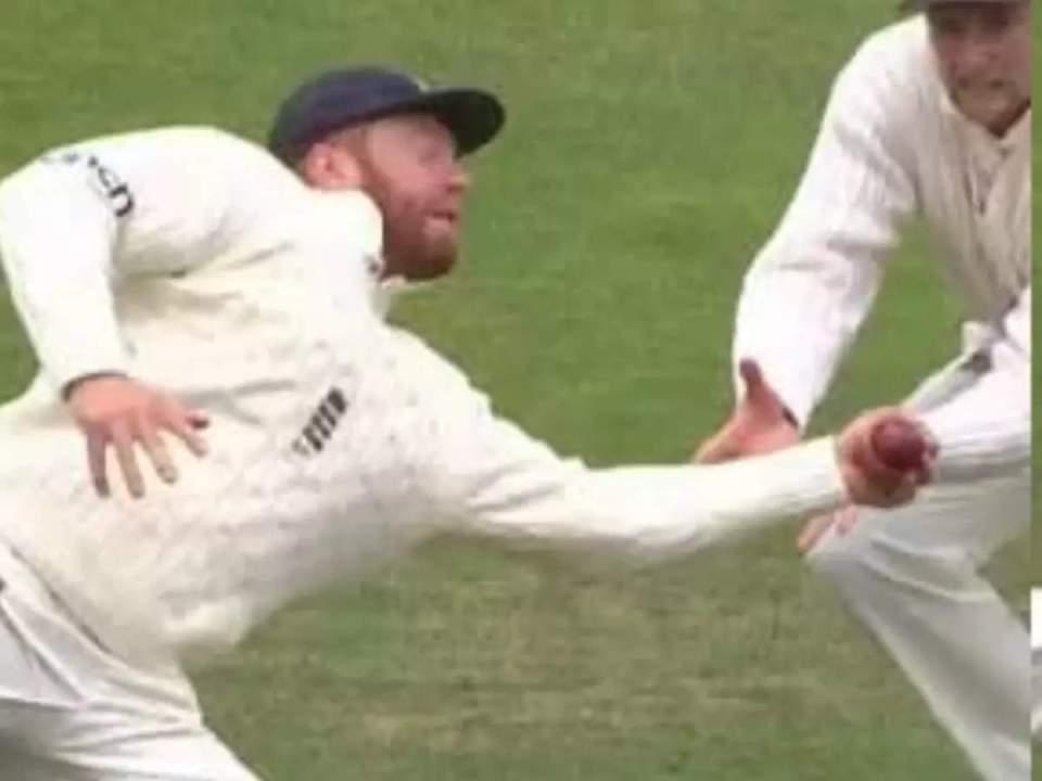 Bairstow-Kl Rahul Catch: Watch Video Jonny Bairstow Takes One-Handed Stunner Catch In Slips To Get Rid Of Kl Rahul In Headingley Test: जॉनी बेयरस्टो ने गोलकीपर की तरह पकड़ा एक हाथ से