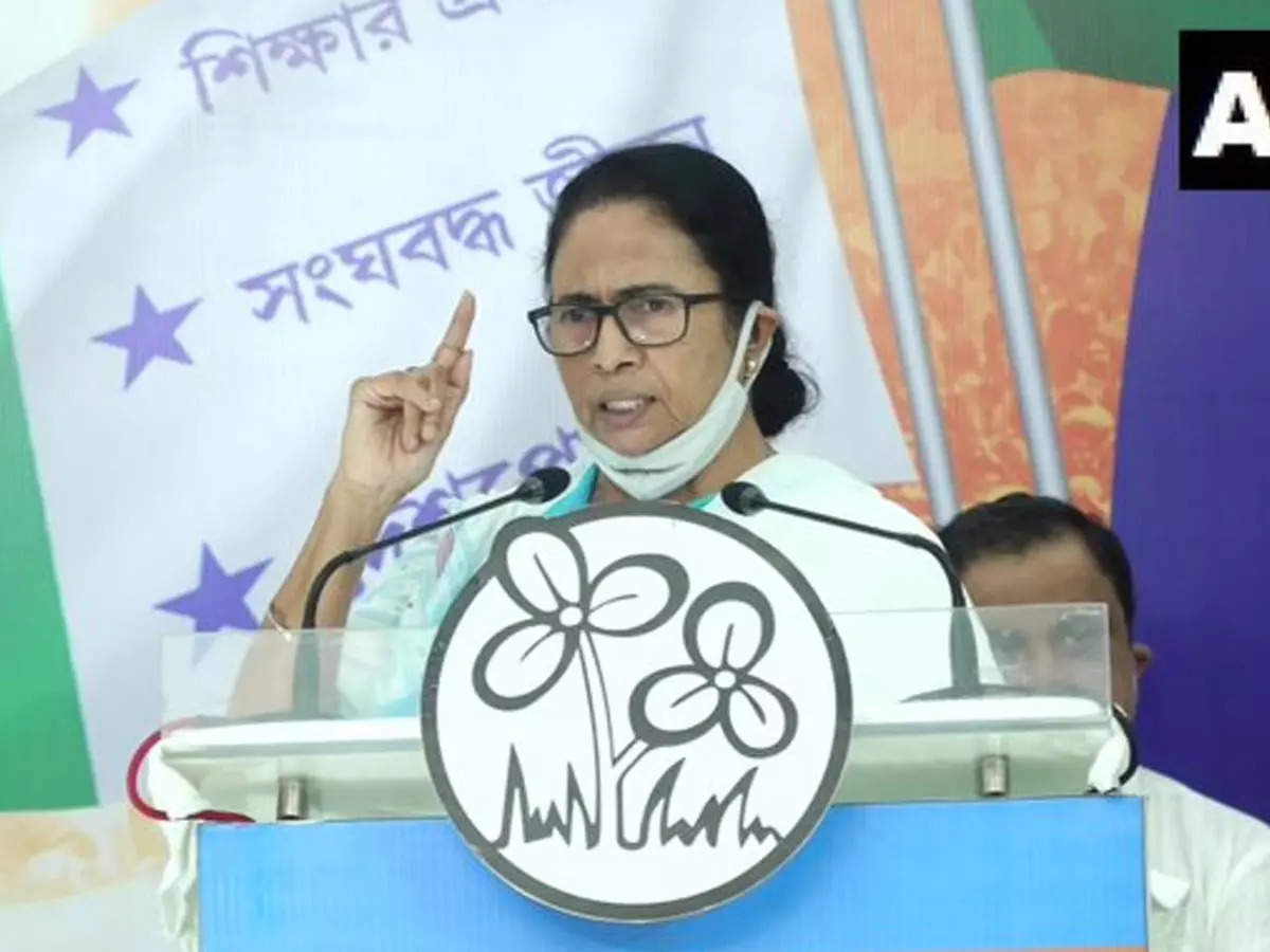 Mamata Banerjee attacks Modi government: Mamata Banerjee attacks Modi government when she can't compete with us