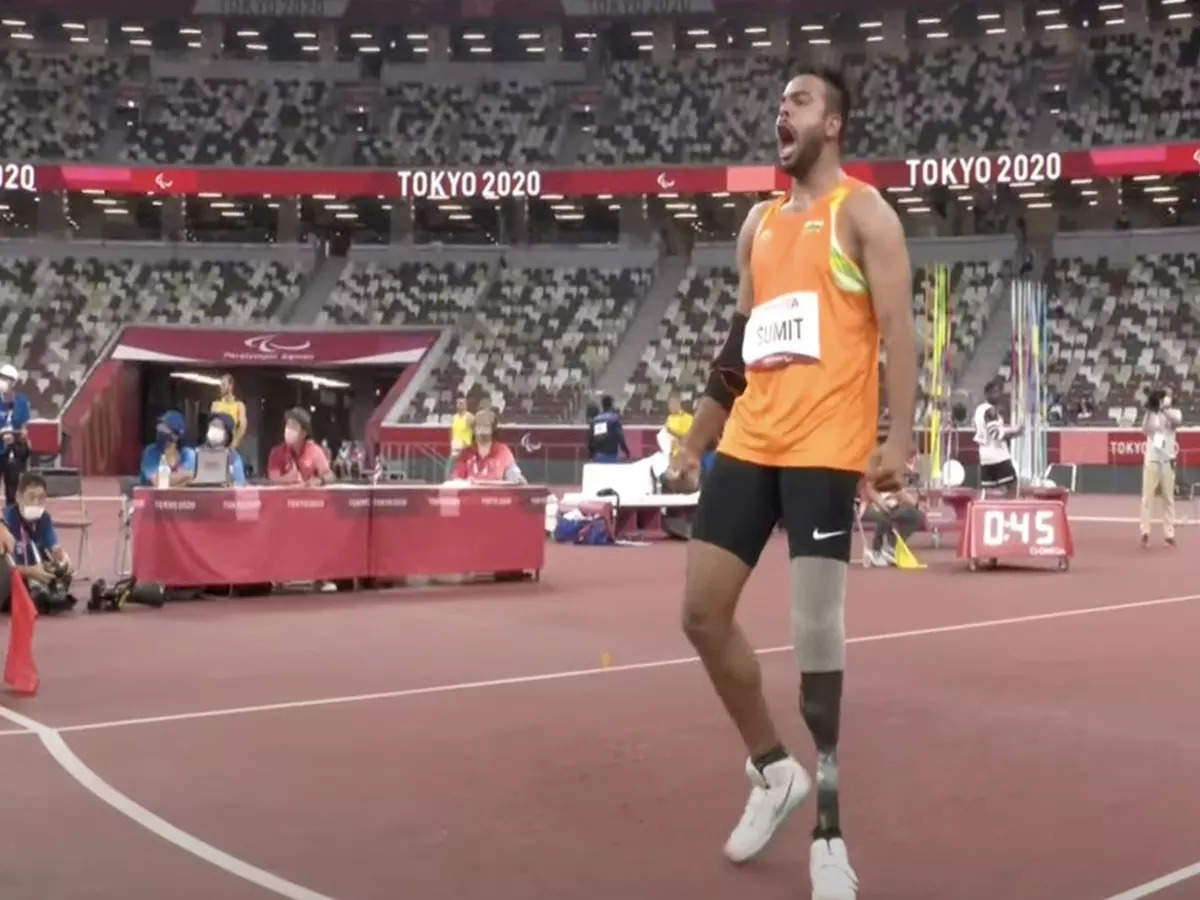 Sumit Antil wins gold: Sumit Antil wins gold at Tokyo Paralympics 2020 with world record throw