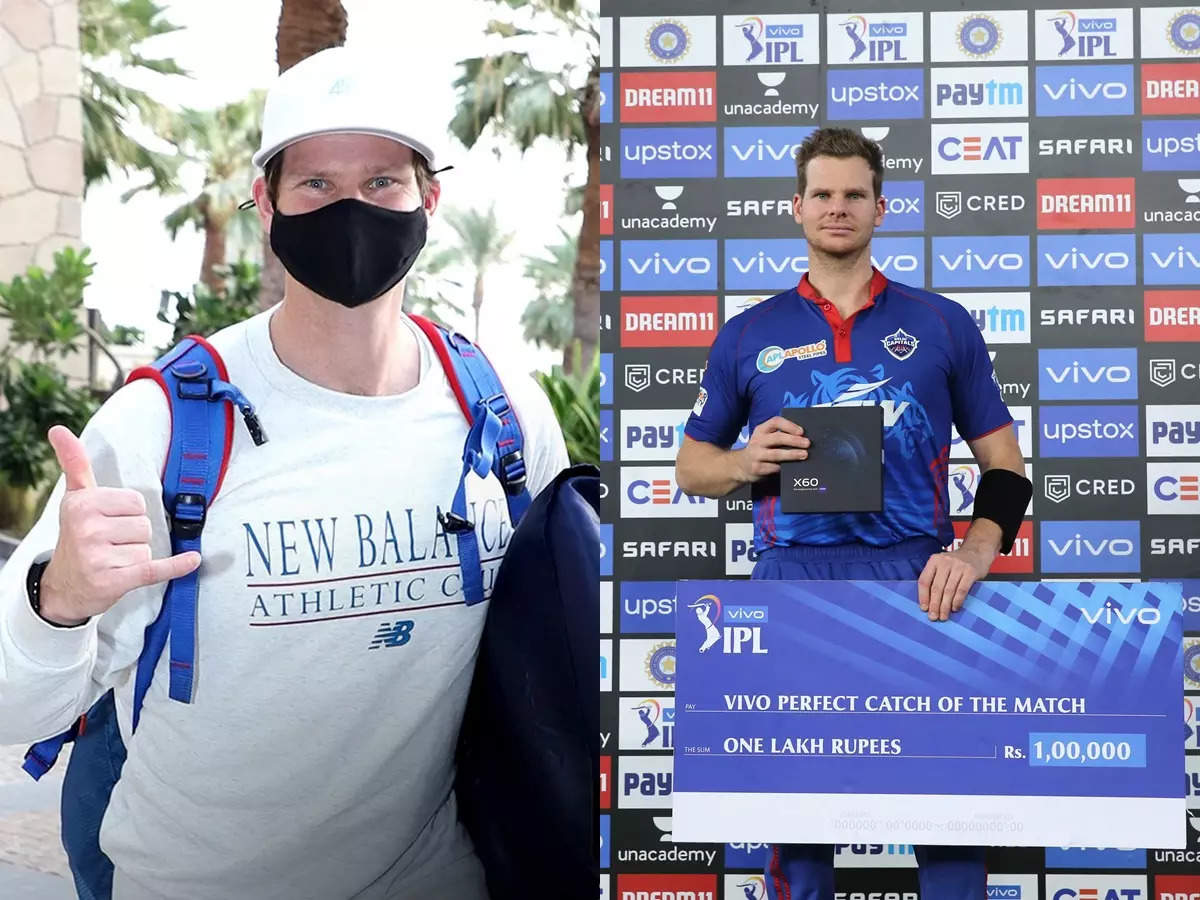 Steve Smith IPL 2021: IPL 2021 Steve Smith joins UAE in second round at Delhi Capitals Camp