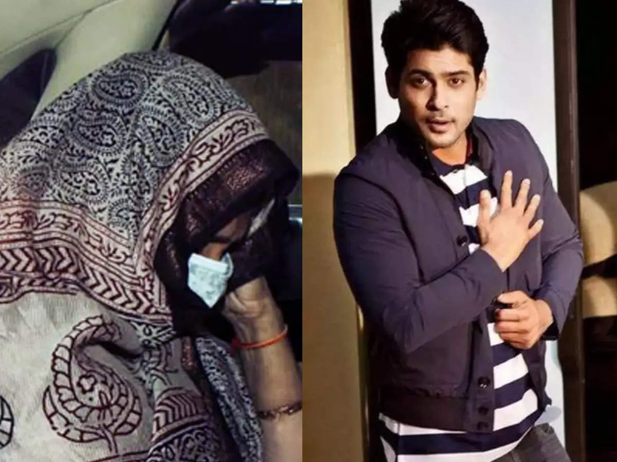Rita Shukla attends funeral of son Siddharth Shukla: Funeral of Siddharth Shukla at Oshiwara Cemetery: Funeral of Siddharth Shukla was held at Oshiwara Cemetery.  His funeral was attended by family members, friends and people from the industry.