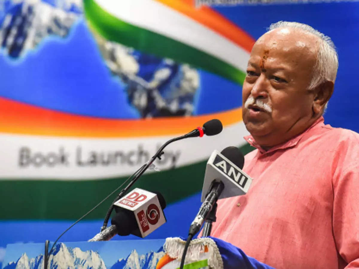RSS chief Mohan Bhagwat says Hindus and Muslims are one: Mohan Bhagwat says Hindus and Muslims have the same DNA