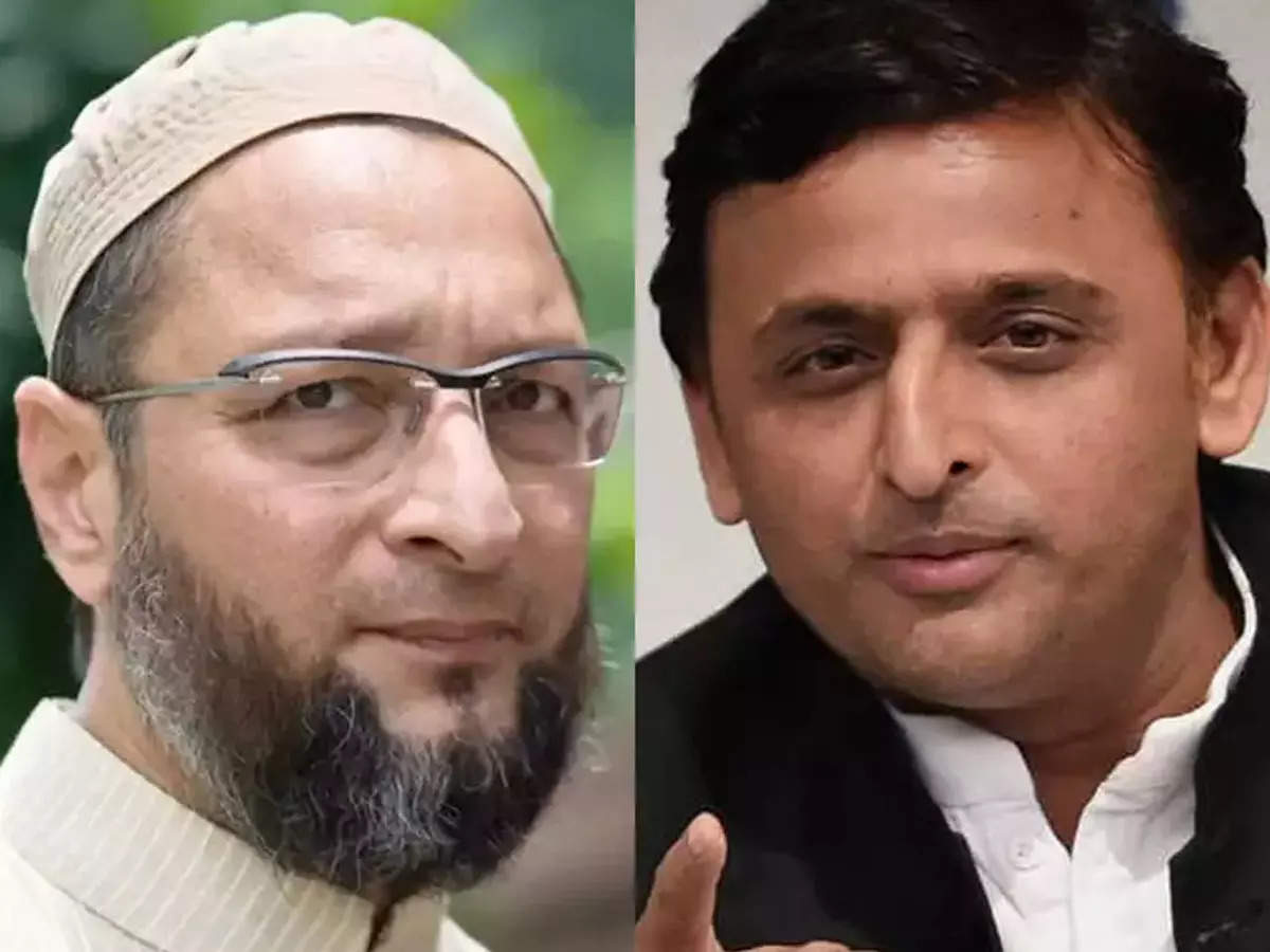 Concern for Akhilesh Yadav says Asaduddin Owaisi will win the Muslims up this time