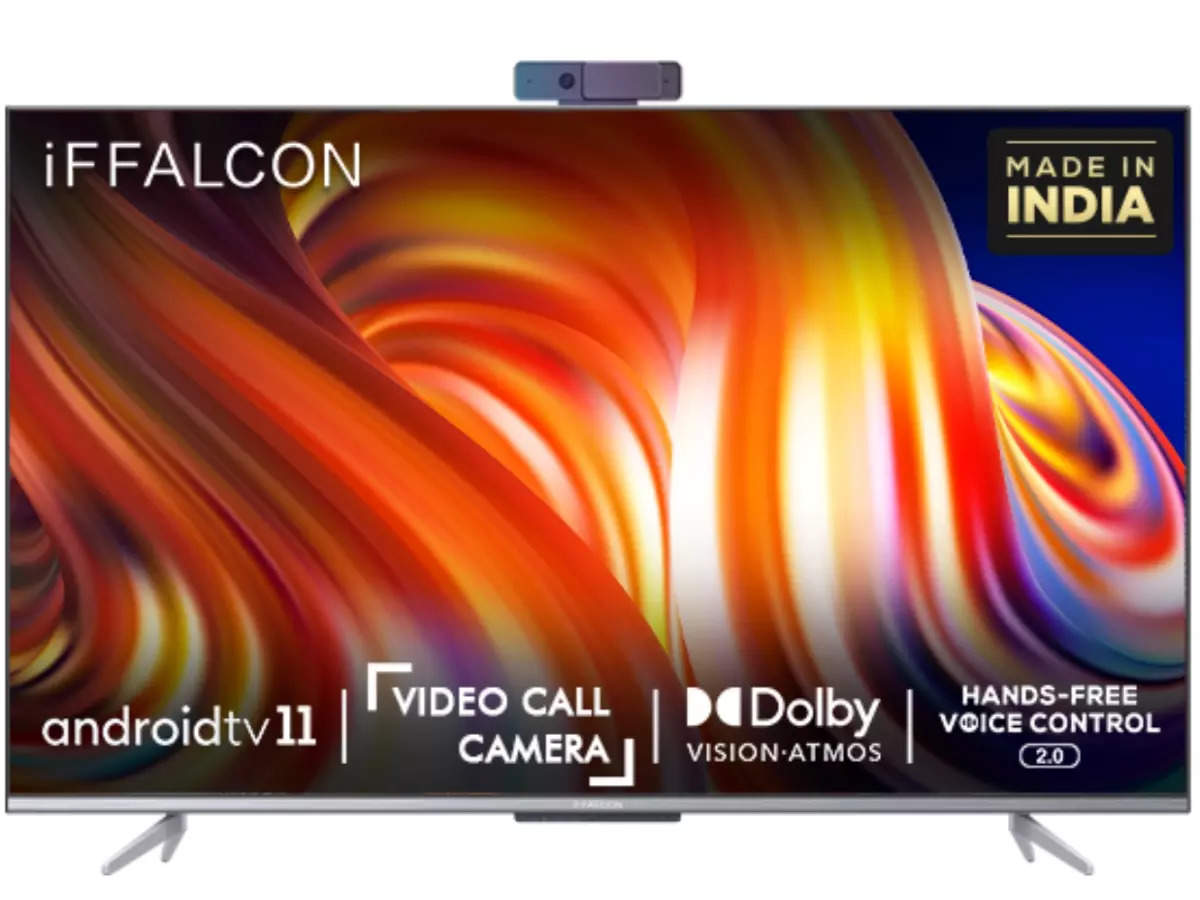 iFFalcon K72 55 Inch 4K QLED Smart TV Price: Fun of video calling on TV now, iFFalcon's new smart TV, Android TV 11 with many features