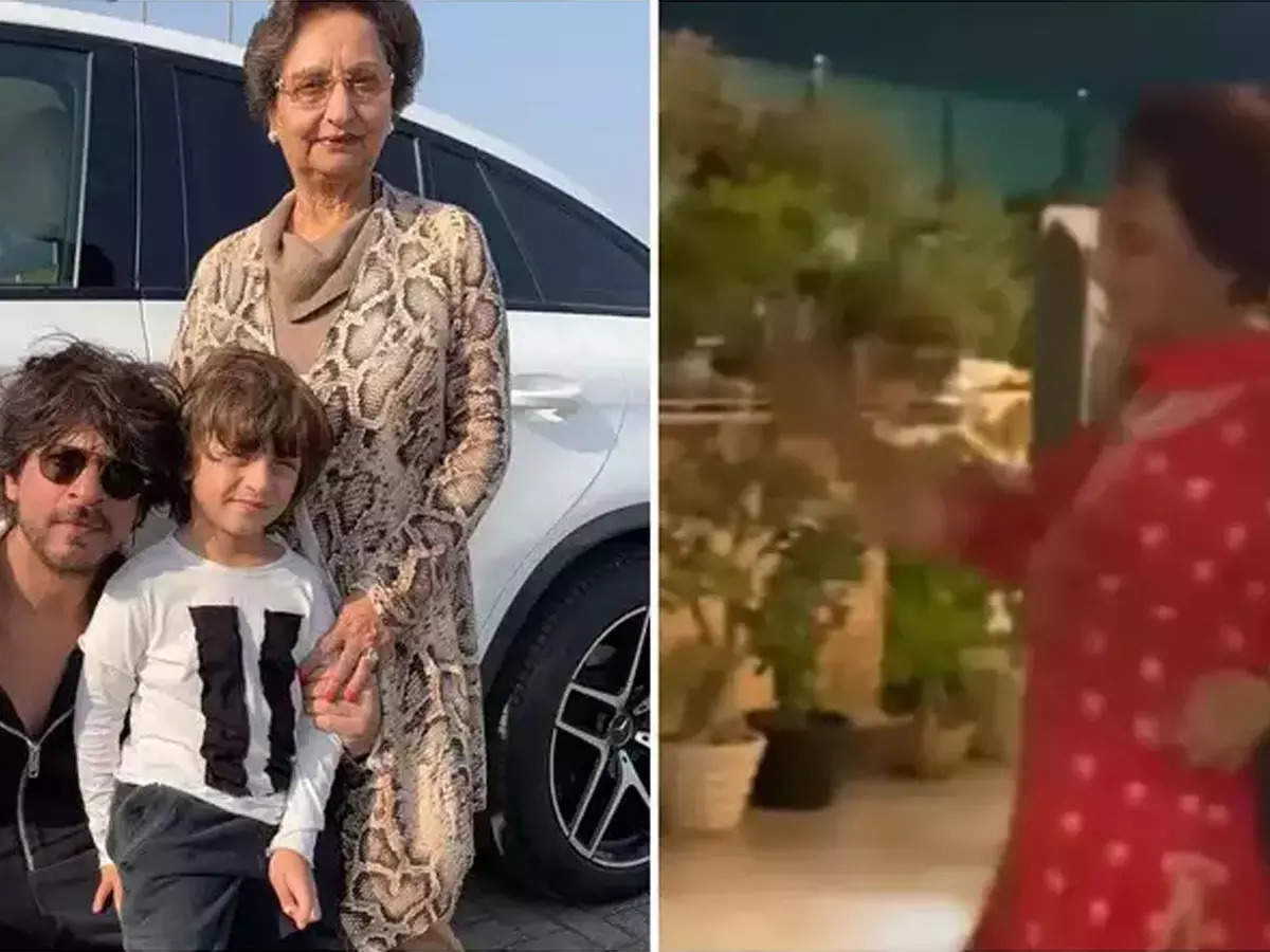 Shahrukh Khan's comment on Gauri Khan's mother's video: Gauri Khan's mother's video: Gauri Khan shared her mother's dance video on her Twitter handle.