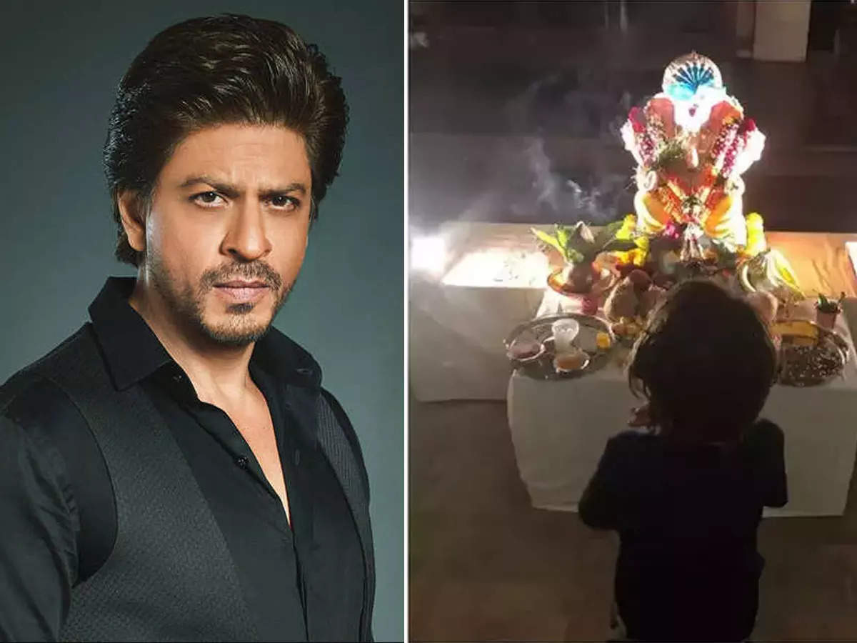 When Shah Rukh Khan came under the sway of extremists, he shared a picture of him worshiping Abram