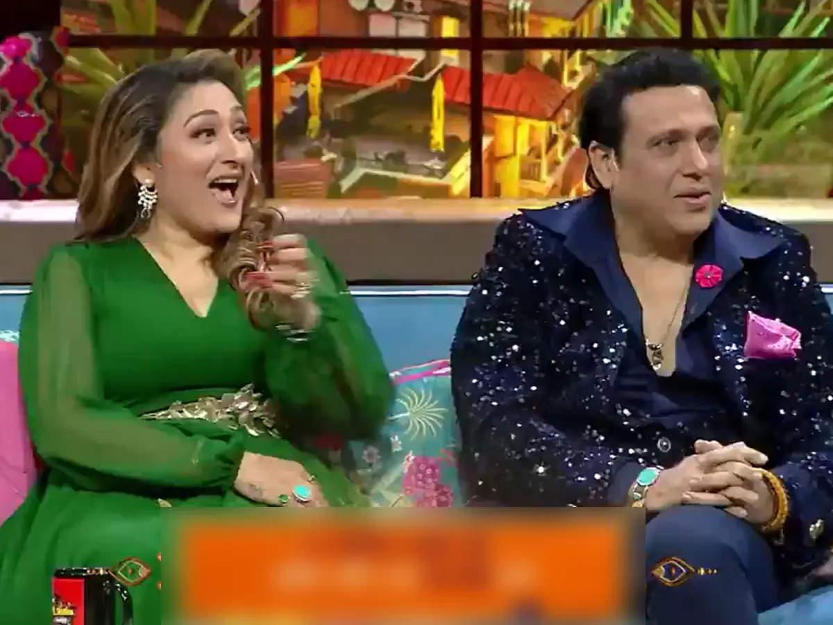 Govinda Sunita Ahuja in The Kapil Sharma Show: Govinda with wife Sunita Ahuja in Kapil Sharma Show- Funny Video- Govinda's condition deteriorated due to Kapil Sharma's questions