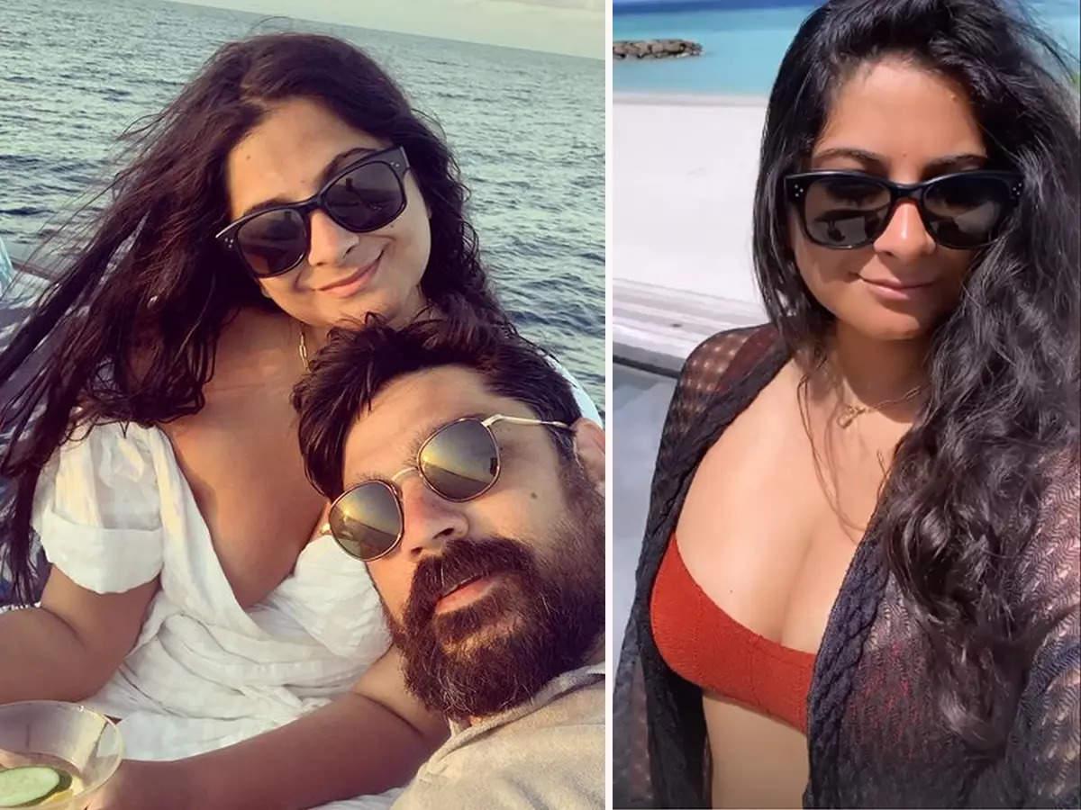 Riya Kapoor Karan Boolani Honeymoon: Riya Kapoor and Karan Boolani honeymoon photos during romance in Maldives