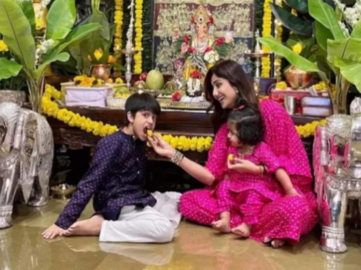 Raj Kundra Porn Case: Shilpa Shetty celebrates Ganesh Chaturthi with her children without Raj Kundra Watch the video Shilpa Shetty remembers Ganesh Chaturthi with her husband Raj Kundra, shares a painful post