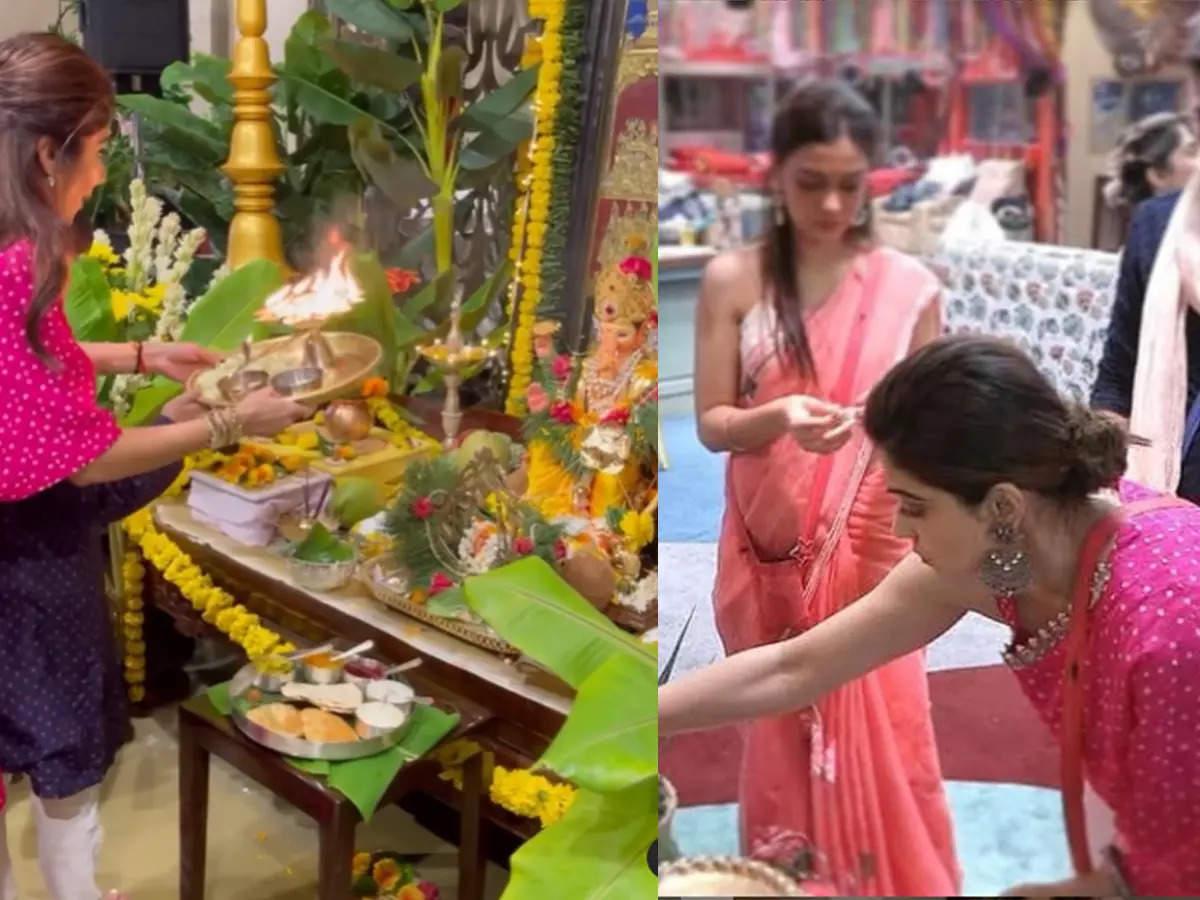 Shilpa Shetty Shamita Shetty and Shilpa Shetty wore matching outfits: Shamita Shetty wore matching outfits in 'Bigg Boss OTT'