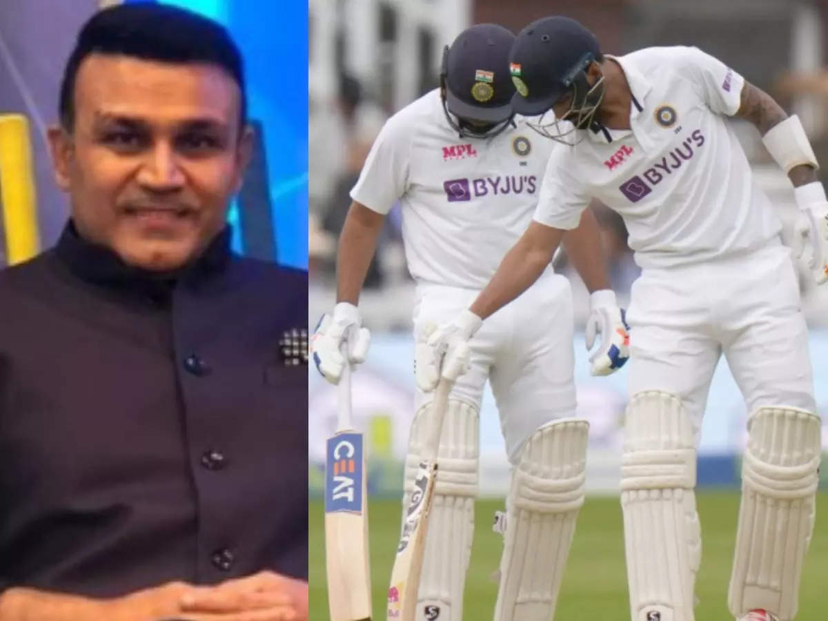 Sehwag on batting: Ind V England: KL Rahul and Rohit Sharma's contribution will not be forgotten;  Virender Sehwag says: Rohit-Rahul's batting fan Sehwag says the contribution of Indian openers in England tour cannot be forgotten