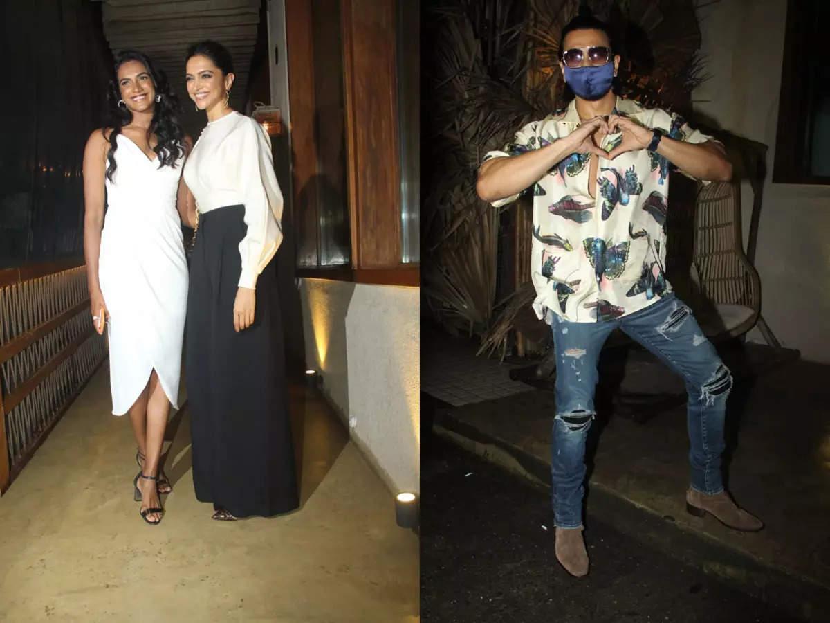 Deepika Padukone PV Sindhu Ranveer Singh Dinner: Ranveer Singh joins Deepika Padukone and PV Sindhu: Ranveer Singh joins Deepika Padukone and PV Sindhu.