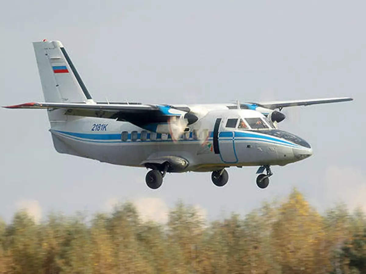 Russian passenger plane crashes: Russian passenger plane crashes with 16 people on land