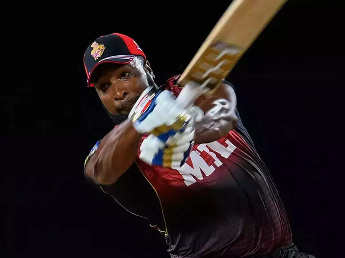 Watch the video Kieron Pollard Fifty: Kieron Pollard's Stormy Bat;  Kieron Pollard helped the Trincomalee Knight Riders reach the semifinals of CPL 2021;  Kiran Pollard's storm was seen in the CPL before the IPL, the winning ball was played in 22 balls, Ali Khan also dominated