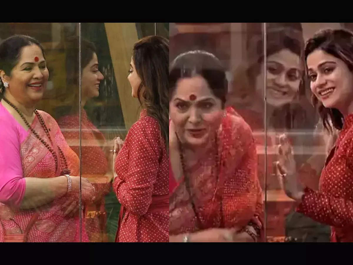 Sunanda on Betty Shamita Rakesh Relation: Shamita Shetty mother Sunanda tells her and Rakesh Bapatla in Bigg Boss Oat