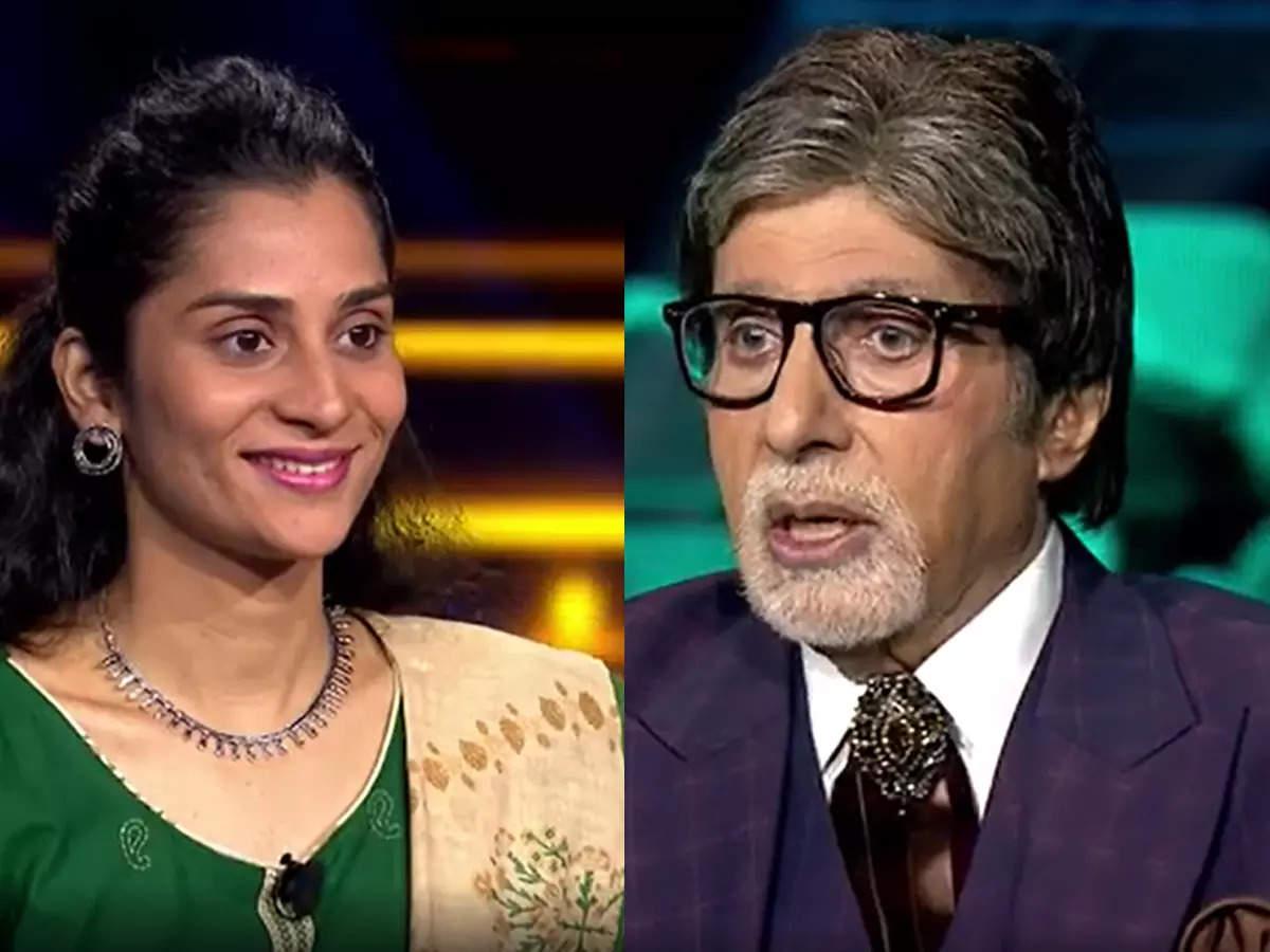 Kaun Banega Crorepati 13: Kaun Banega Crorepati 13 Contestant Rashmi Kadam's father Amitabh Bachchan was a bodyguard