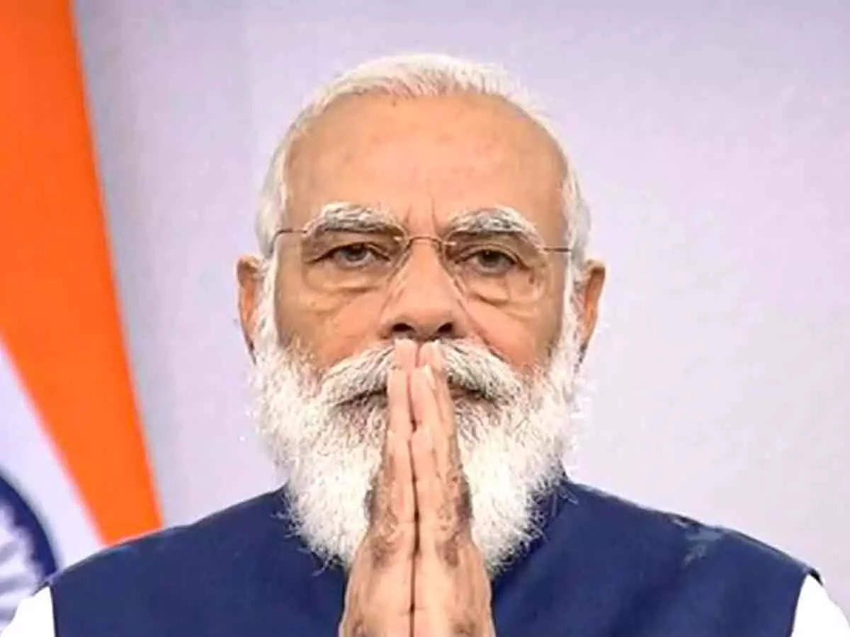 PM Modi's 20 years in office: PM Modi K 20 years: PM Modi completes 20 years as administrator, he said that strength comes from people's blessings, strength comes from blessings