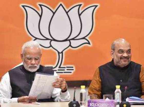 bjp sources hints partial delay in ticket announcement for gujarat
