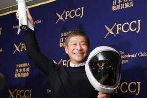 billionaire yusaku maezawa: billionaire looking for 'girlfriend' to get closer to the moon – billionaire is searching girl friend for trip around moon