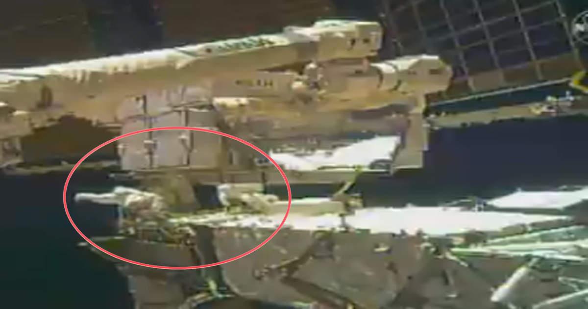 नासा अंतरिक्षयात्री ने स्पेस में खोया शीशा कचरा बना