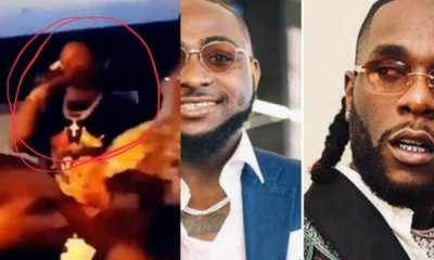 Wizkid was present when Davido and Burna Boy clashed; Video shows he ignored Them (Watch)