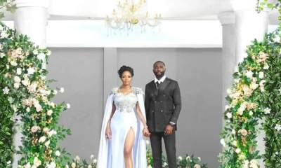 BBNaija love birds, Khafi and Gedoni Finally Married (Photos)