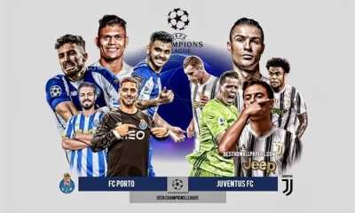 STREAM LIVE: Porto Vs Juventus [Watch Now] CHAMPIONS LEAGUE 2020/2021