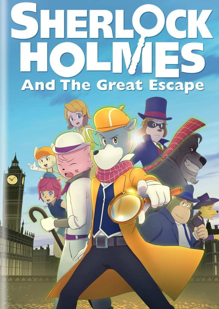 Sherlock Holmes And The Great Escape (2021) Full Movie