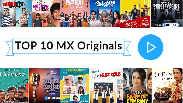 top 10 mx originals web series