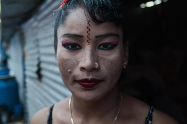 Chakravarthy's better half, C. Reena, 35, is often the only female presence in a testosterone-filled crew. Crew members are recruited from time to time, based on demand, with the help of agents.
