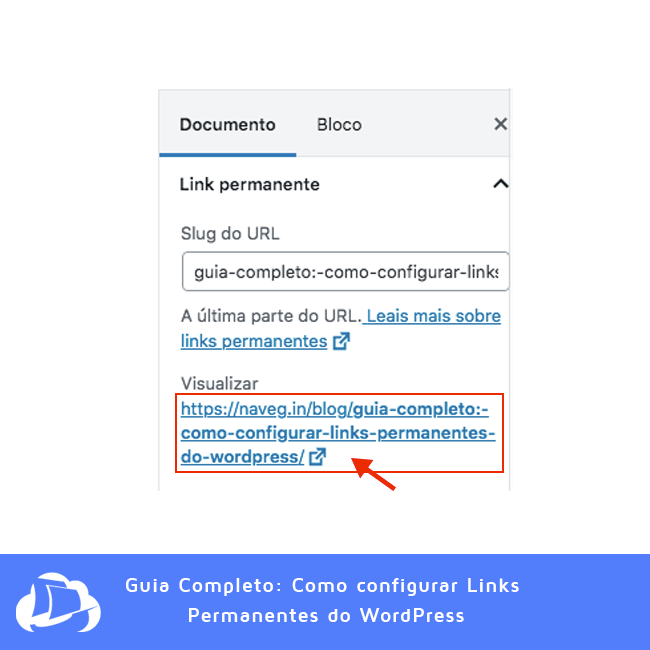 Editando URLS grandes Feio - WordPress