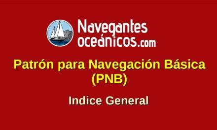 Patrón para Navegación Básica (PNB). ÍNDICE GENERAL.