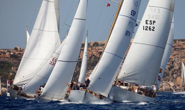 XVII Copa del Rey de Barcos Clásicos en aguas de Menorca