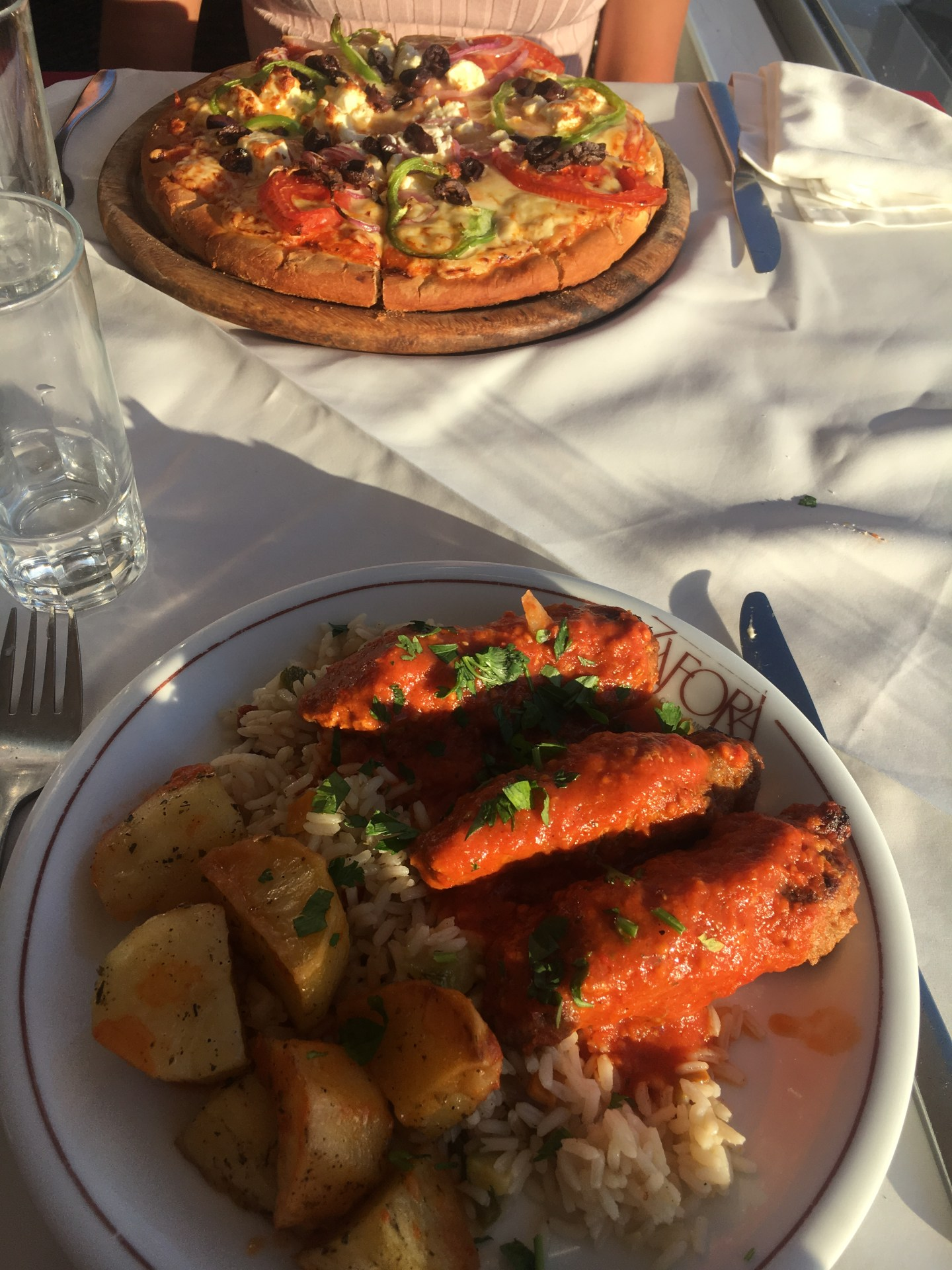 Restaurant à Fira à Santorin