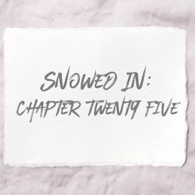 Snowed In: Chapter Twenty Five