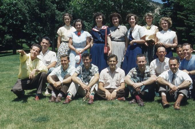 Dawson Trotman with Early Navigator Group